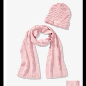 Victoria's Secret beanie & scarf